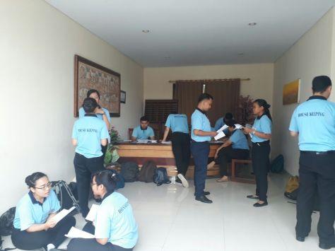Matrikulasi Room Division November 2017